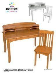 KidKraft Large Avalon Desk – White « Game Searches