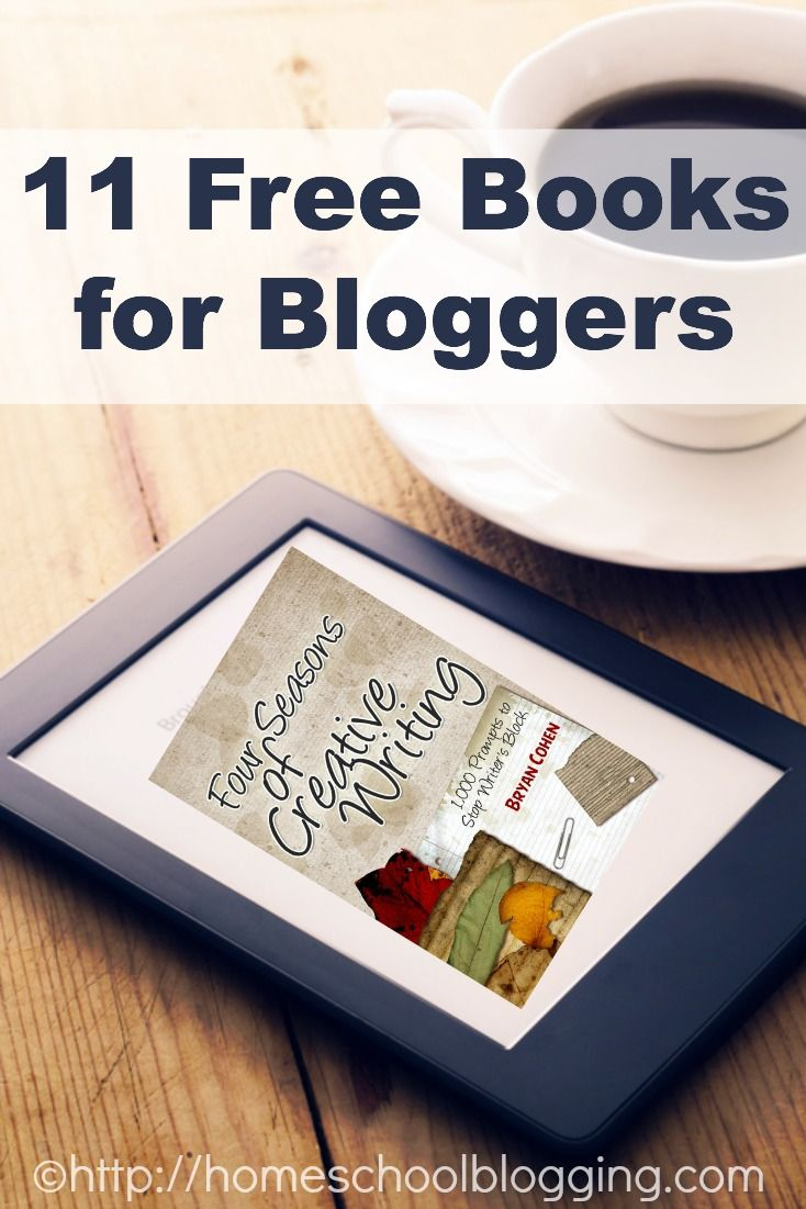 11 Free Books for Bloggers - great reading for your Kindle. My favorite has 1000 writing prompts for when you get writer's block! #hsbloggers