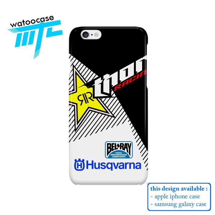 Thor Racing Rockstar Husqvarna Phone Case   Apple iPhone 4 4s 5 5s 5c 6 6s Plus Samsung Galaxy S3 S4 S5 S6 S7 EDGE Hard Case
