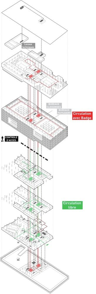 Gallery - City Municipal Office Complex / ECDM Architects - 7
