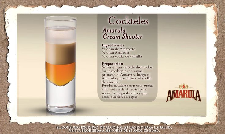 Amarula Cream Shooter