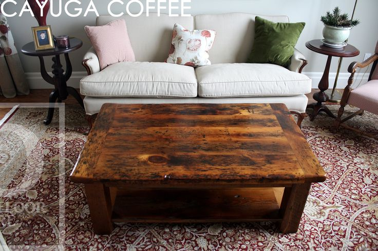 Reclaimed Wood Coffee Table by HD Threshing Floor Furniture of Cambridge, Ontario / www.hdthreshing.com  Email directly at rw@table.ca