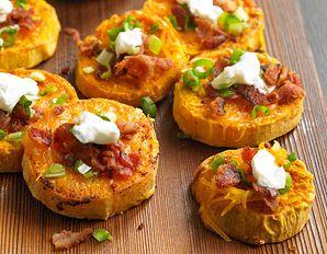 Biggest Loser Sweet Potato Skins-VERY HEALTHY/VERY SWEET/VERY YUMMY