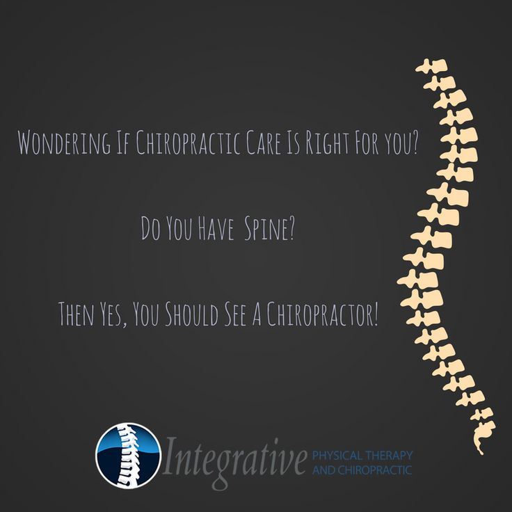 Happy Friday! Just some Chiropractic Humor to start off your weekend off right! That said, start your weekend off right by booking your next adjustment today! Call us at 760-940-0500