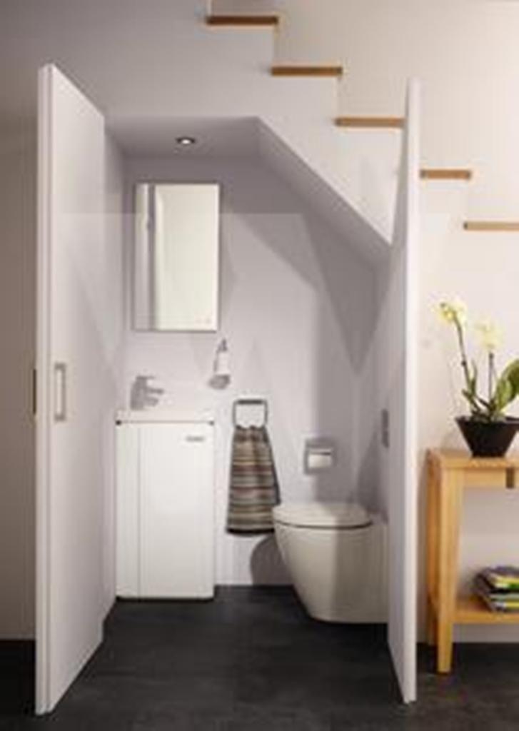 Baño Bajo Escalera Diseno: Bajo Las Escaleras en Pinterest