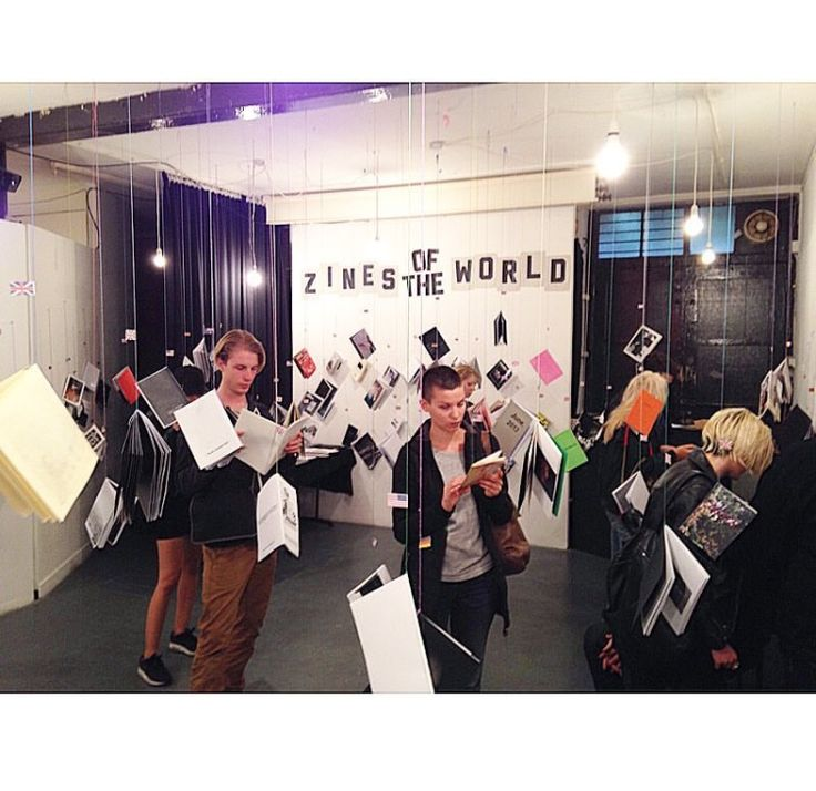A full house at the Doomed Gallery this Sunday for Zines of the World exhibition #londontoday #rainydayactivities