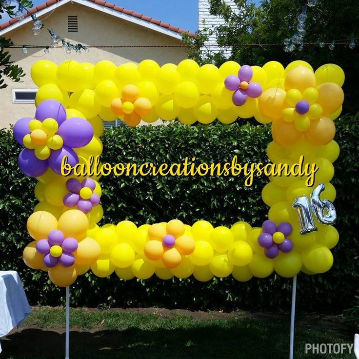 47 best Frames / Walls / Photo Ops Balloon Ideas images on Pinterest ...