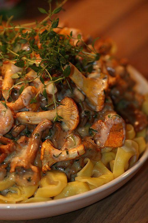 Kantareller & färsk pasta… Tillagat DELUXE! – Kryddburken.se