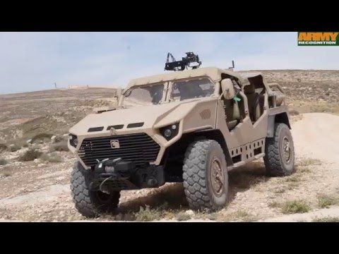 Ajban SOV 4x4 Special Operations Vehicle NIMR Automotive Warrior Competition 2016 KASOTC - YouTube