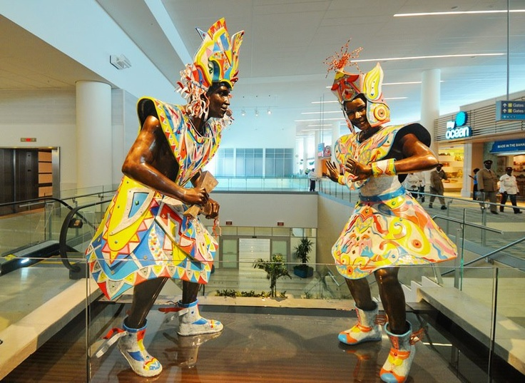 Junkanoo Statues Bahamian Art And Culture Pinterest