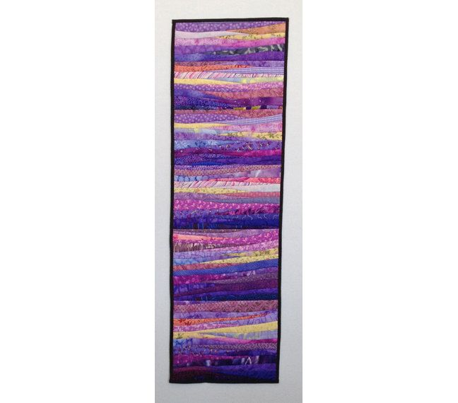 purple quilt wall art home decor quilt handmade