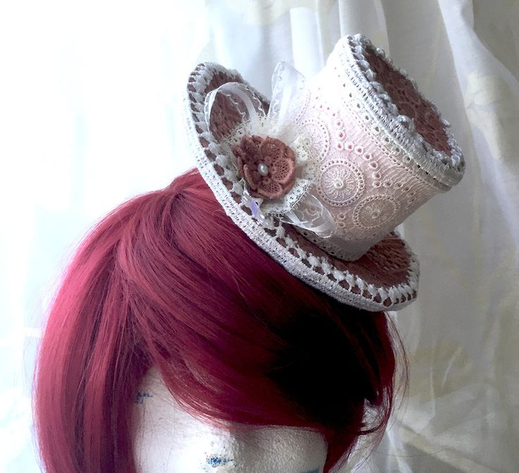 Minihat ~ Pink Victorian by Naruvien