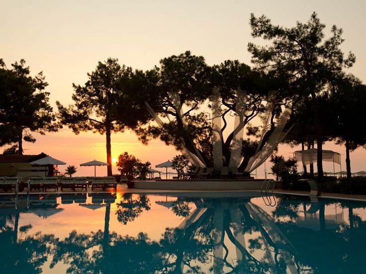 Sonnenuntergang im ROBINSON Club Camyuva