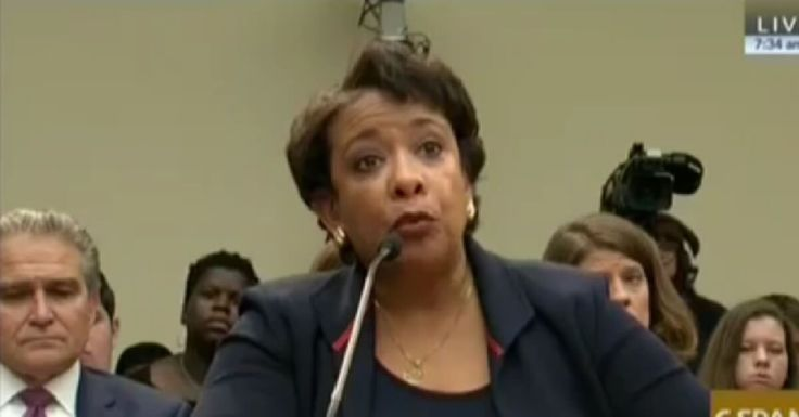 07-12-2016    Attorney General Lynch either doesn't know her job, or she just doesn't care.