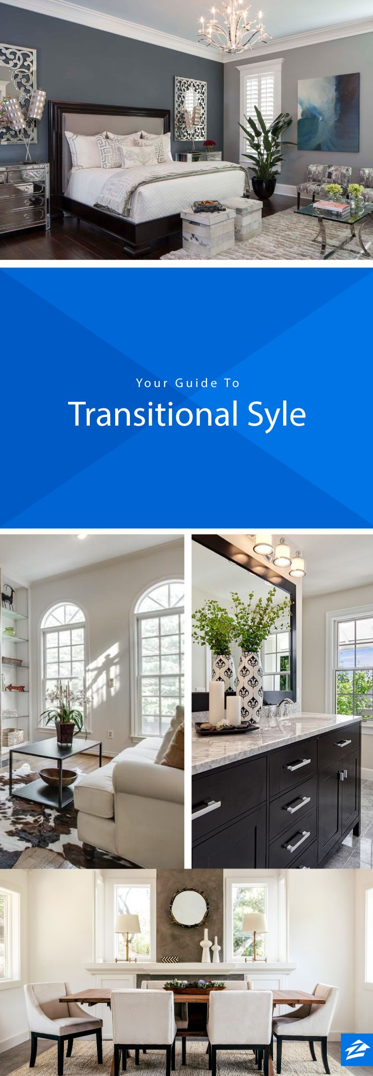 Transitional Style - Tips On Transitional Room Design