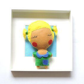 Doll Pitú by Senhorinha on Etsy