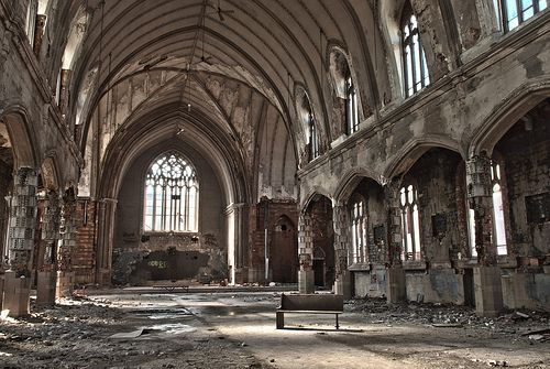 Abandoned Church - Detroit