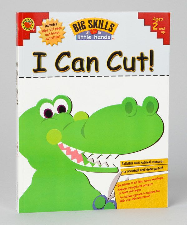 Look at this Big Skills for Little Hands: I Can Cut Paperback on #zulily today!