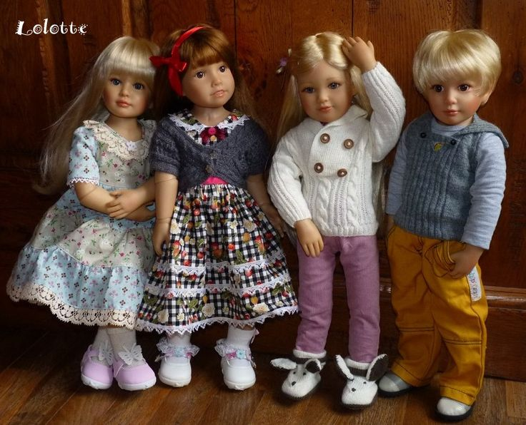 247 Best Images About Kidz N Cats Dolls By Sonja Hartman