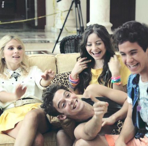 Quarteto mara... (Ámbar,Matteo,Luna e Símon)- Soy Luna