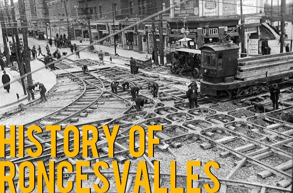 HISTORY: Approaching Toronto from the southwest about a century ago, Roncesvalles Avenue would have been the first well developed north/south strip that one encountered. In the post WWII years, a large number of Polish immigrants settled in the area, setting up churches, banks and businesses which remain important local institutions #TBTNOTW — at Roncesvalles Village, Toronto, Ontario