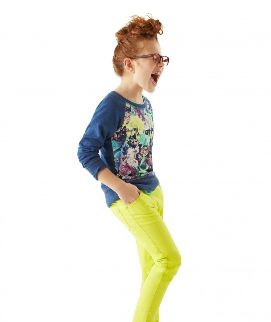 Vibrant spring colours and looks- my girls would both love this outfit! #nutmegcomp