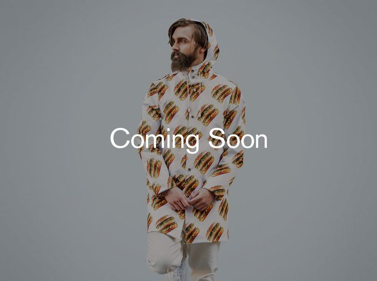 Burger Raincoat | Big Mac Shop