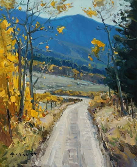 Autumn Gateway by Josh Elliott Oil ~ 12 x 10