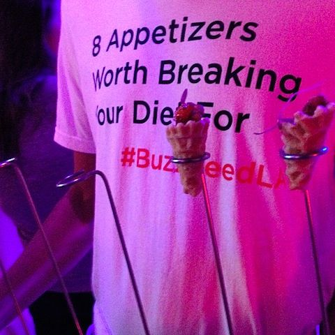 8 Appetizers at the LA BuzzFeed Grand Opening Party You Wish You Were Eating Right Now (by Room Forty catering)