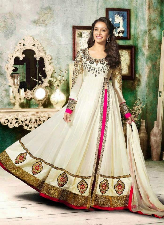 Amazing Photoshoot of Shraddha Kapoor in Anarkali Outfit