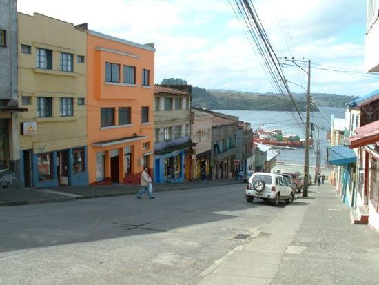 Isla de Chiloé, Sur de Chile.