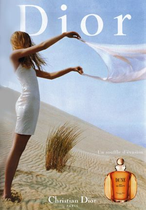 Dior Dune -- I always loved this one in the 90's. Smells like the beach, woods, hot sand, and dune grass.