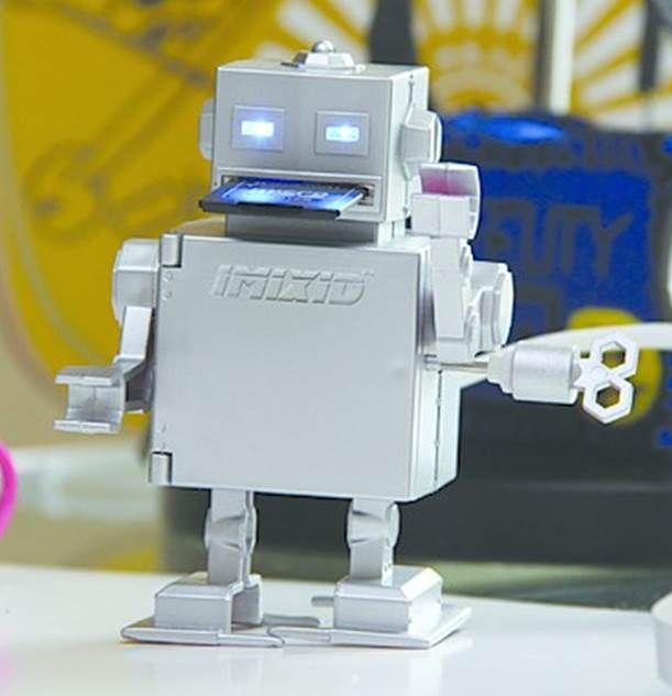 lector de tarjetas con forma de robot gadget regalos divertidos y originales objetos
