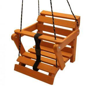 42,50EUR  Babyschaukel Kinderschaukel Schaukel aus Holz Holzschaukel 5 Farben