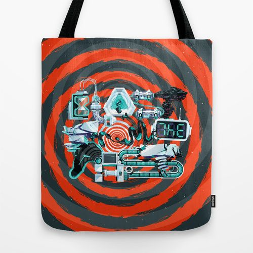 Blast From The Past Tote Bag by INSgraphizm | Society6