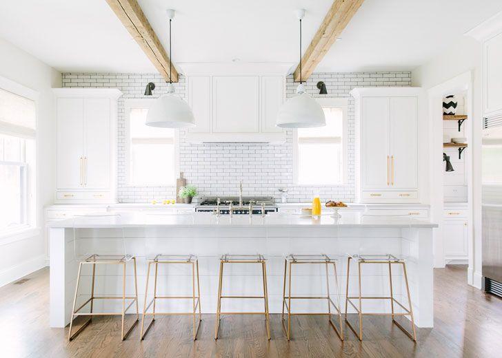Простые формы и чистые линии в чудесный интерьерах Kate Marker   Пуфик - блог о дизайне интерьера