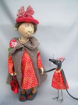 Cloth Doll Patterns by Jill Maas - several doll patterns to choose from $12.00USD each