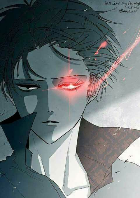 is it just me or does levi have monokuma's fucking EYE--