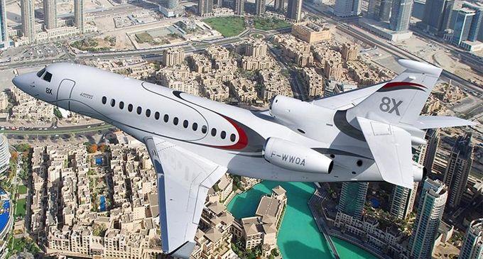 Dassault Aviation to highlight Falcon 8X, 900LX trijets at Dubai Air Show 2017