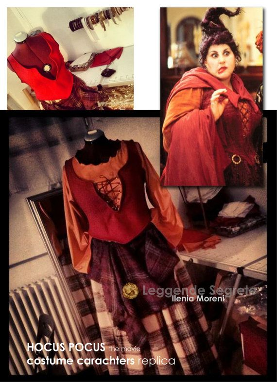 Hocus Pocus Witch Mary replica Cosplay Costume woman witches sorceress MADE TO ORDER