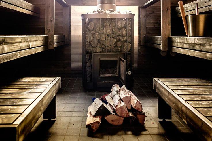Wood Stove Finnish Sauna