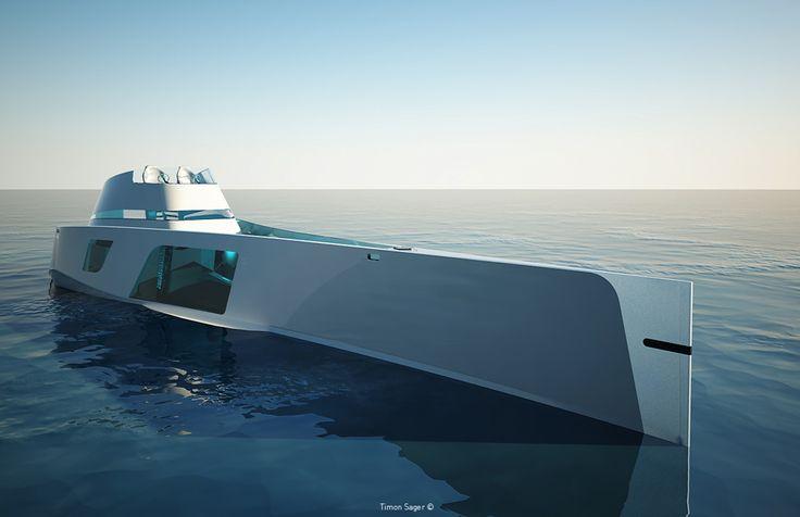 Yacht di lusso per viaggiare ad alta velocità http://www.differentdesign.it/yacht-di-lusso-per-viaggiare-ad-alta-velocita/ Uno #yacht di lusso dalle forme audaci ed insolite, per #viaggiare a tutta velocità...