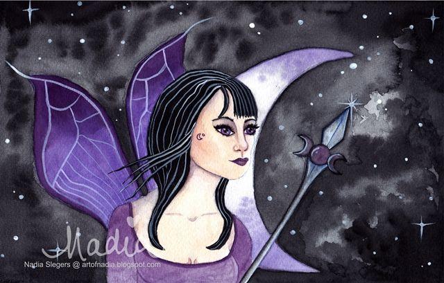 Dark Fairy Queen (www.artofnadia.blogspot.com)