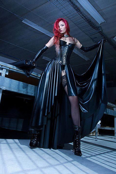 Goth, Cyber Goth, Cyber Punk, Pastel Goth, post apocalyptic and Fantasy are among the most imaginative fashion styles although rarely photographed in Bury St. Edmunds, Suffolk www.EricYoungPhotography.co.uk