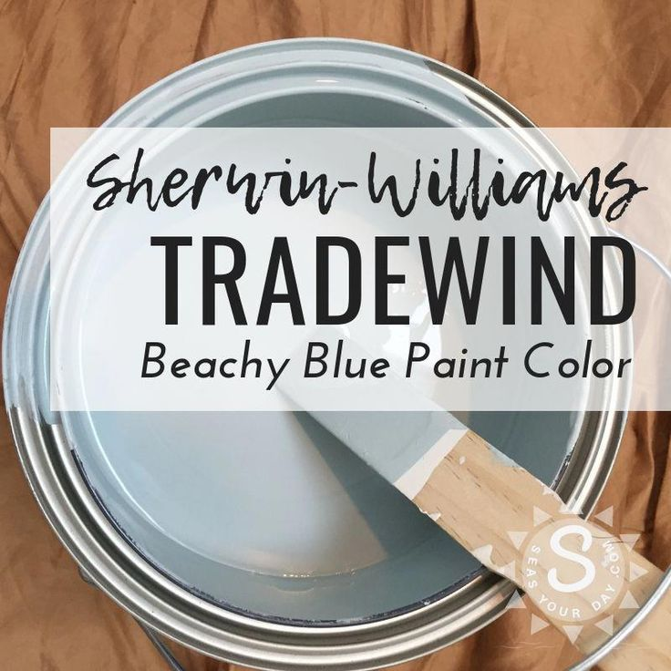Garden Centre: Sherwin-Williams Tradewind Paint Color SW-6218 Is Among