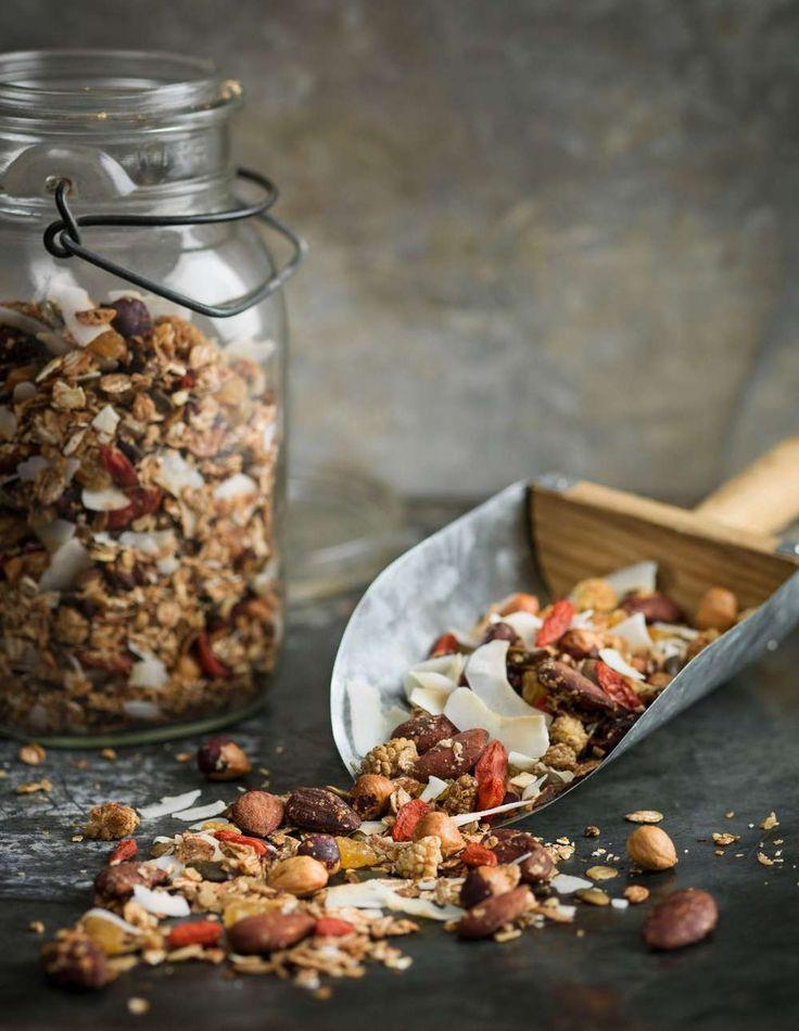 Med vår hemgjorda granola blir frukosten något att längta till