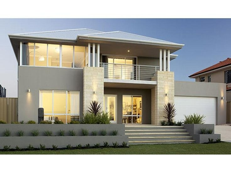 Awesome Photo Of A Concrete House Exterior From Real Australian Home Largest Home Design Picture Inspirations Pitcheantrous