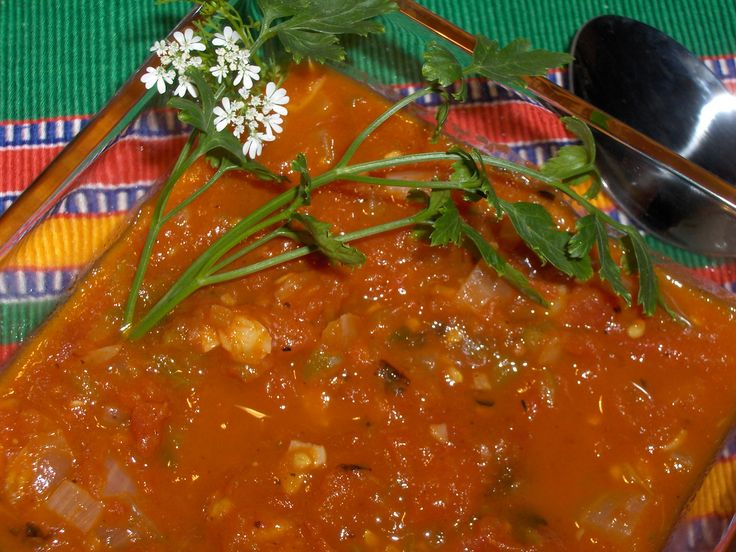 Salsa Ranchera — Mexican tomato and chile sauce, country style « Cooking in Mexico