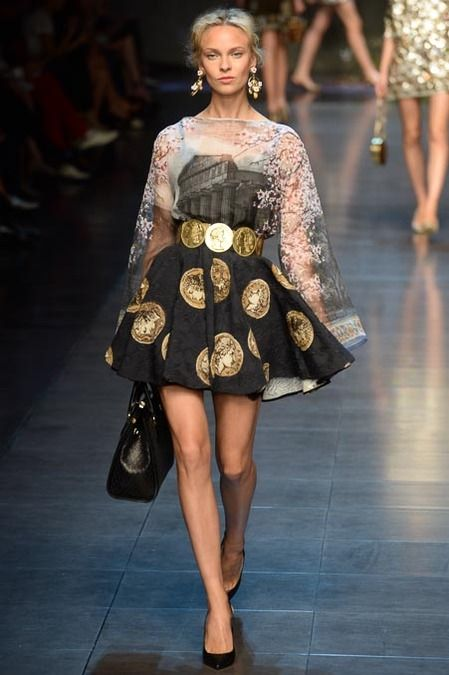 Dolce & Gabbana Spring 2014 Ready-to-Wear Collection Slideshow on http://misqueridasfashionistas.blogspot.com.es/