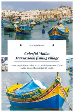 Colorful-Malta-Marsaxlokk fishing village